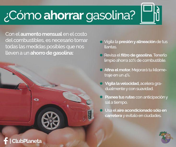 Que el aumento de precio de gasolina NO te afecte 😓 Con estas medidas AHORRA y evita un gasto excesivo de combustible. ¡Tu bolsillo te lo agradecerá! ✅