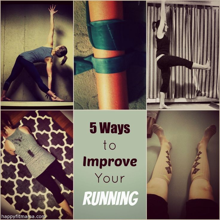 5 Ways to Improve Your Running @Happy Fit Mama