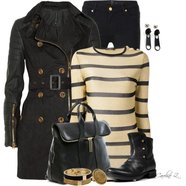 Winter Outfit: Leather Trench Coat, Boots Outfits, Warm Outfits, Fall Outfits, Winter Outfits, Leather Outfits, Trench Coats, Black Trench Outfits, Black Jeans