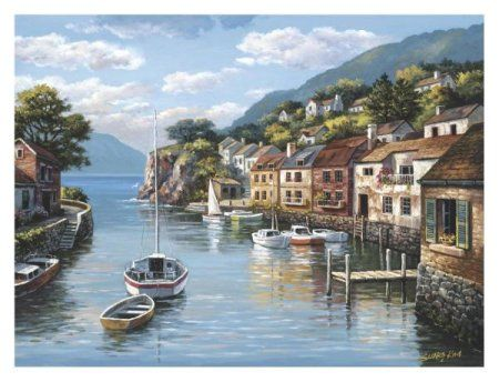 ♥Sung Kim - Village On The Water