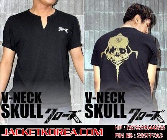 jual-kaos-crows-zero-online-murah-VNECK-SKULL-takiya-genji