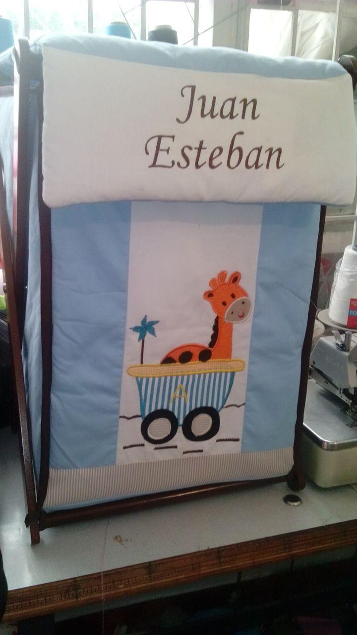 Canastos de la ropita sucia , para la decoración del cuarto de tu bebe  Pedidos whats 3118054529 - 3103489842