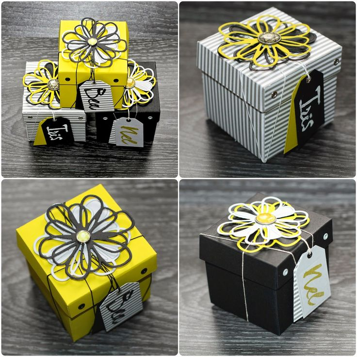 Crafting ideas from Sizzix UK: Boxes