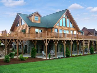 Log Home Floor Plan Jocassee we both agree on this-if we must have a log home