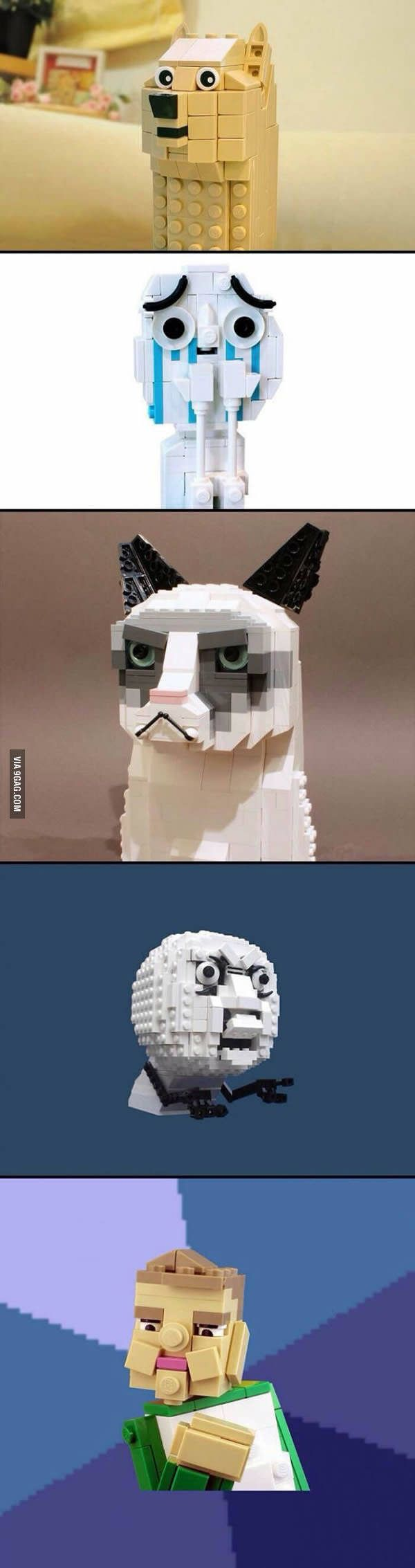 Lego version of memes. - 9GAG