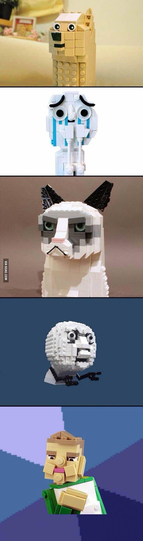 Lego version of memes. - 9GAG