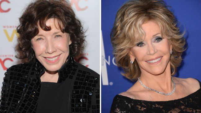 """The """"9 to 5"""" stars will co-star in the 13-episode series """"Grace and Frankie"""" from Skydance Productions."""