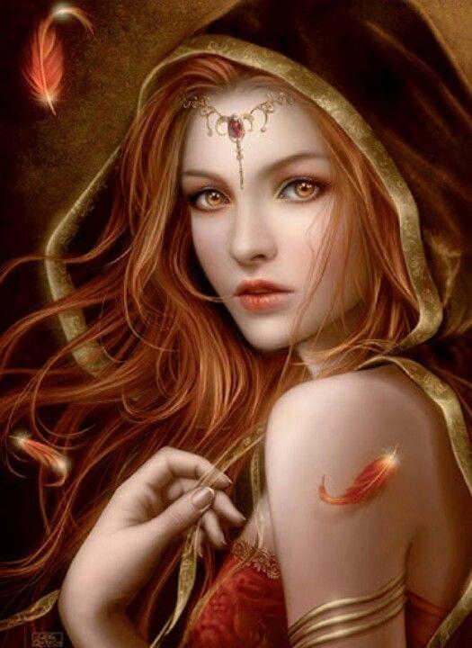 Redhead Princess | Fan...