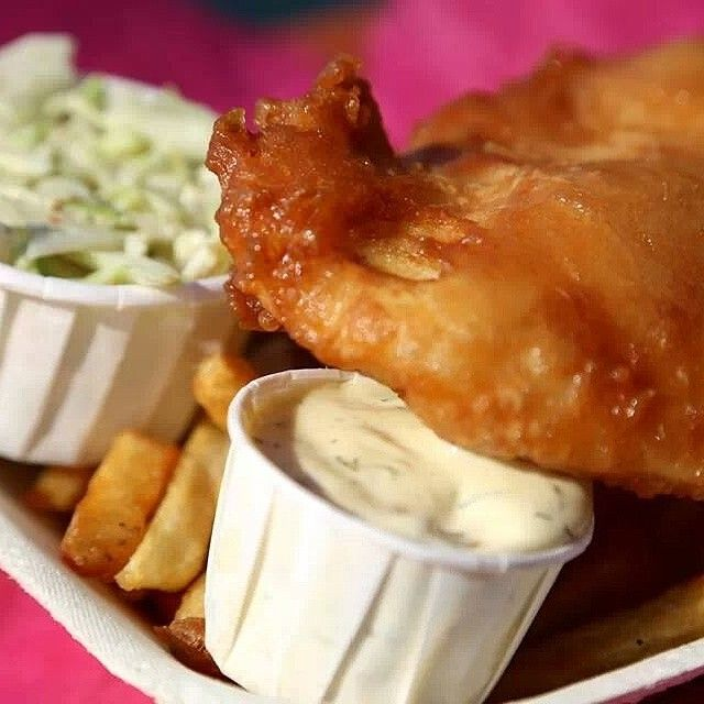You can't go wrong with a simple Fish and Chips. Read more at http://krazykartika.com