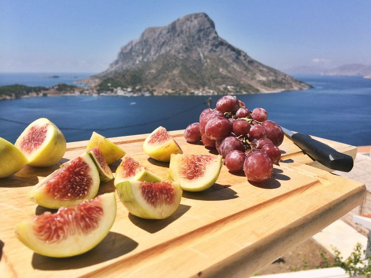 Figs & Grapes in Kalymnos, Greece