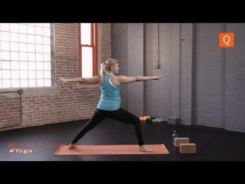Prenatal Yoga Video: Butt and Legs | Heidi Kristoffer