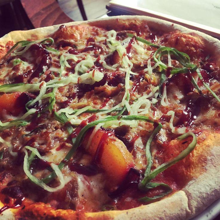 Pizza Hoisin Duck