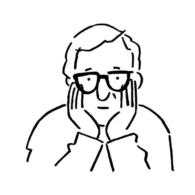Woody Allen by Yu Nagaba