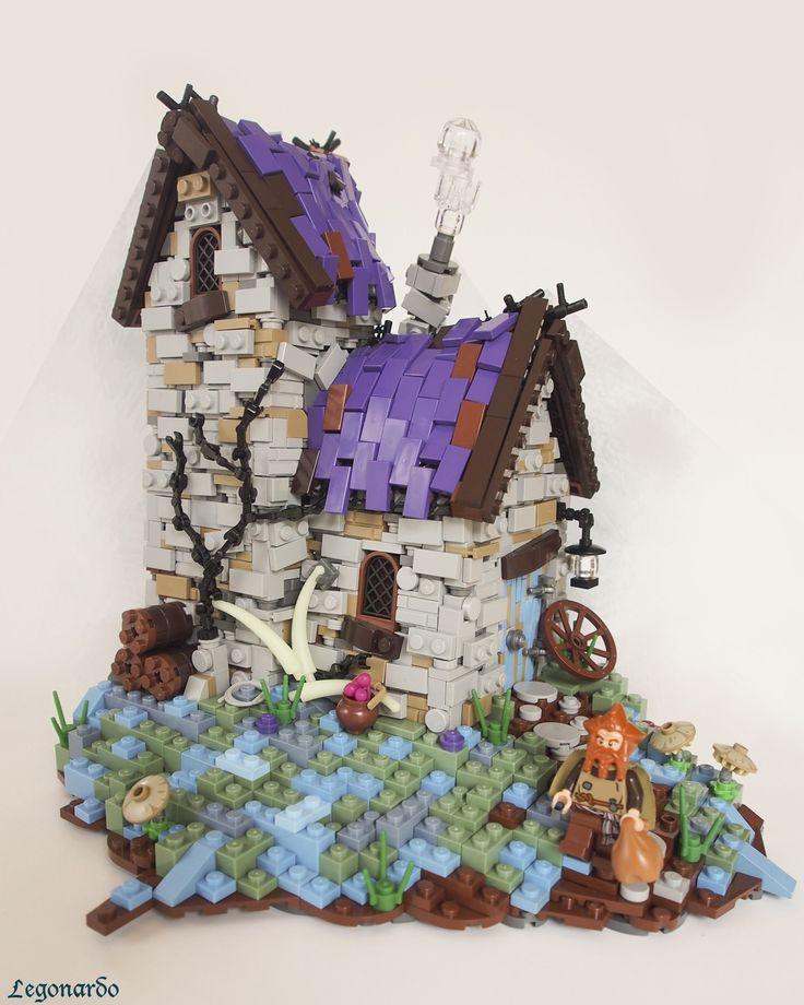 Les maisons Lego heroic-fantasy de Legonardo
