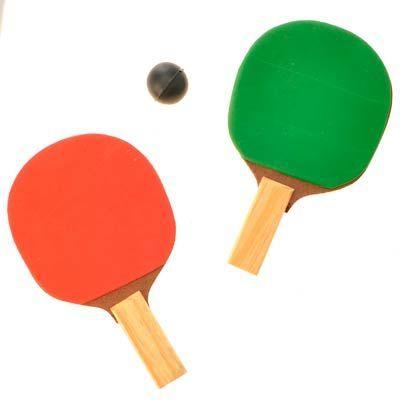Lembrancinha - Kit Jogo de Ping Pong com 02 Raquetes - Magazine 25 de Março - Artigos para Festas