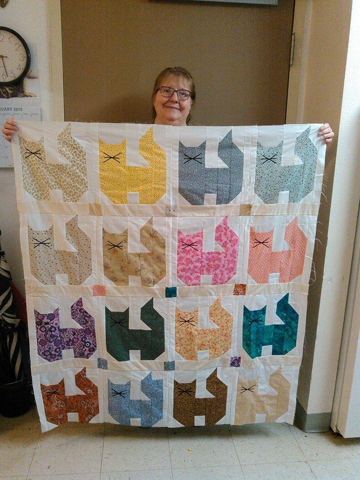 Best 25 Cat Quilt Ideas On Pinterest Cat Quilt Patterns