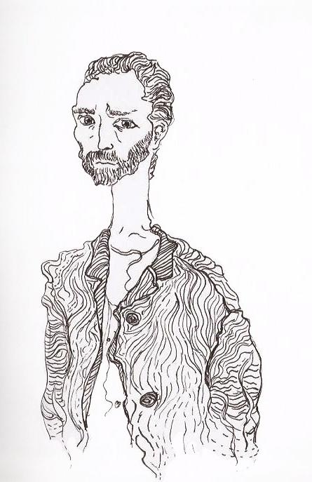 Vincent Van Gogh by Claire Clift