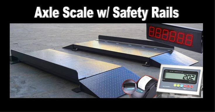 Axle Scale Applications!   Looking to buy online for Non-NTEP axle scale? Shop at https://Selleton.com for accurate axle scale products w/ better pricing.
