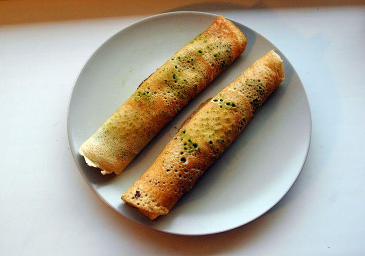 Pełna Lodówka: Dietetyczne naleśniki gryczane ze szpinakiem