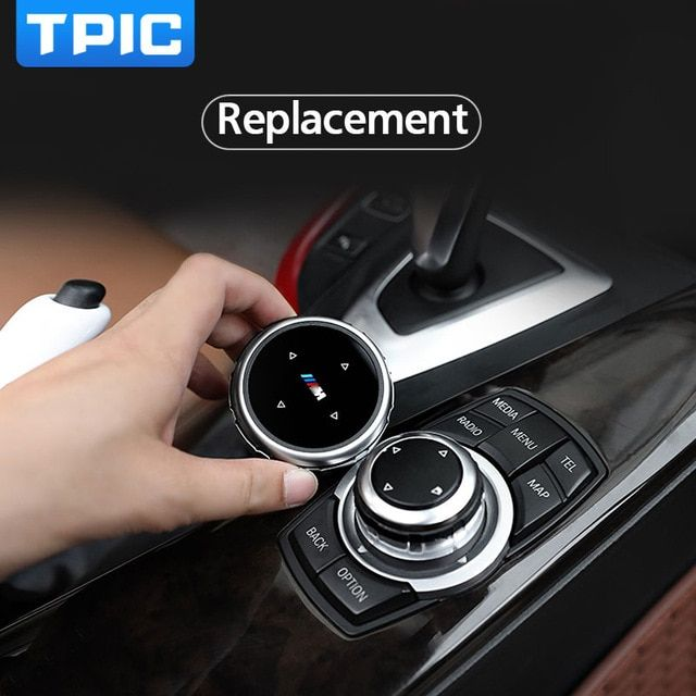 Car Interior Multimedia Buttons Cover Decoration Accessories For