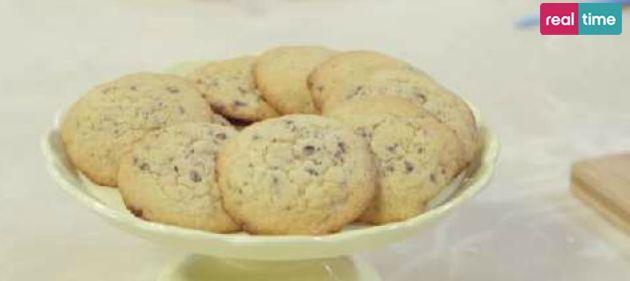 Ricette Benedetta Parodi, i biscotti giganti al cioccolato (VIDEO) | Ultime Notizie Flash