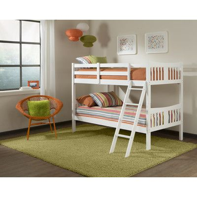 Storkcraft Caribou Twin Bunk Bed & Reviews | Wayfair