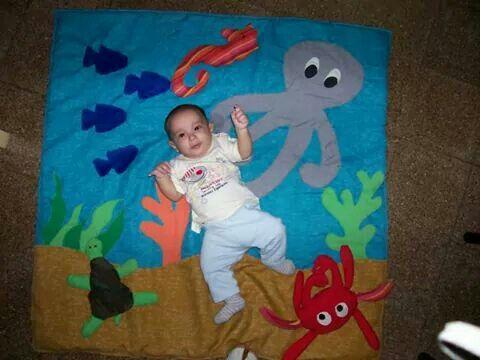 Manta de juegos para bebe varón carpet for baby boy
