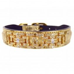 Louis new collar                                                             Haute Couture Art Deco in Metallic Gold/Gold