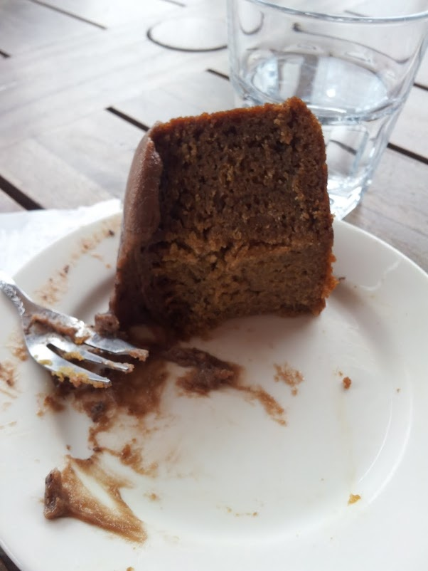 Coffee and cake at Blessed Cheese McLaren Vale, South Australia