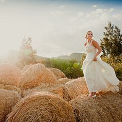 Stunning South African farm style wedding with gorgeous old world charm & pretty vintage details!