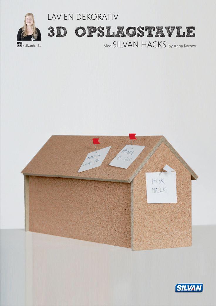 Lav en dekorativ 3D OPSLAGSTAVLE - med Silvan Hacks af Anna Karnov