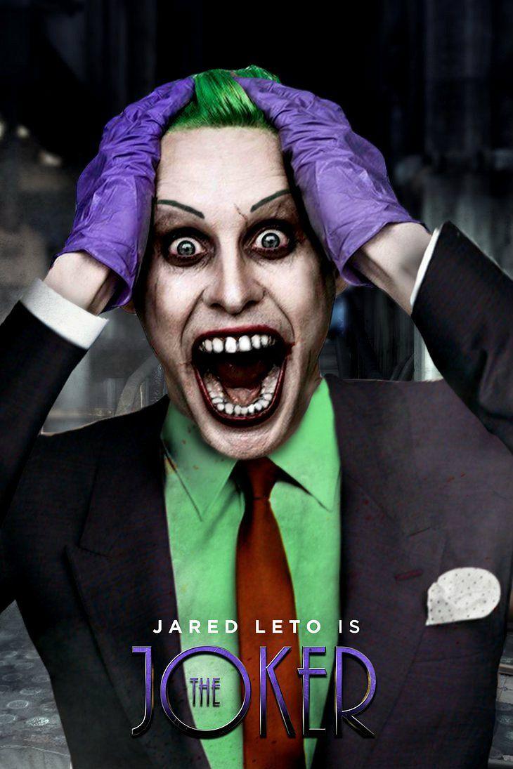 Suicide Squad - The Joker ah ah ha ha ha ha ha ah ah a ha ...