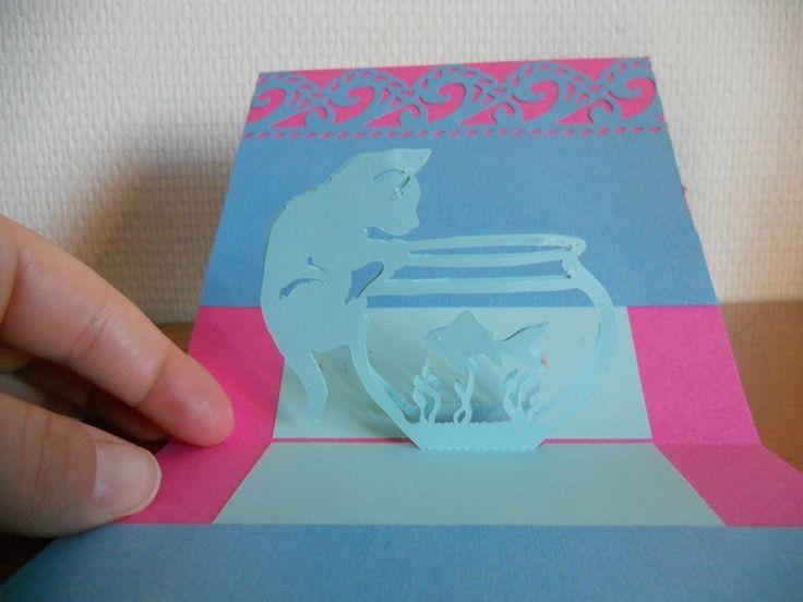 247 best images about kirigami gratuit en folie on pinterest - Un chat gratuit ...