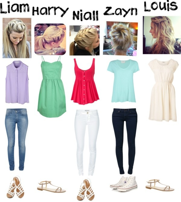 """1D Preference-your spring date"" by browniebrunie on Polyvore"