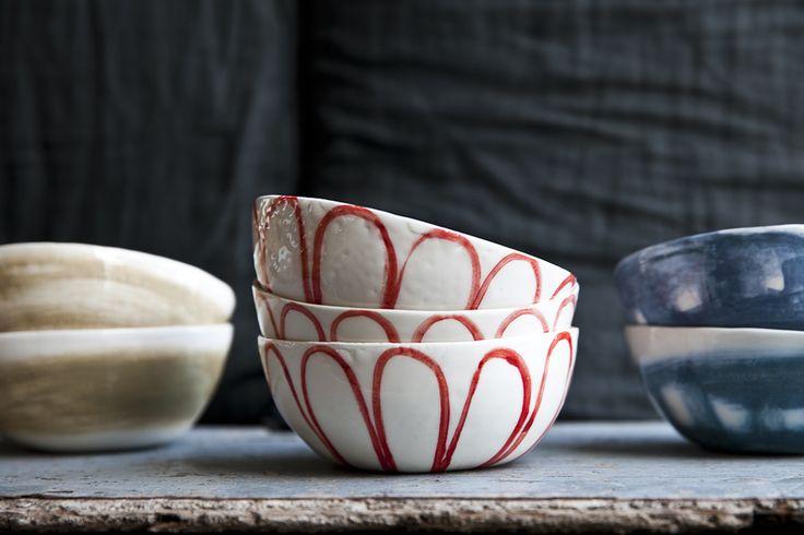 Anemone Handmade Ceramic Italian Bowl by arGYla -dishesonly – DishesOnly