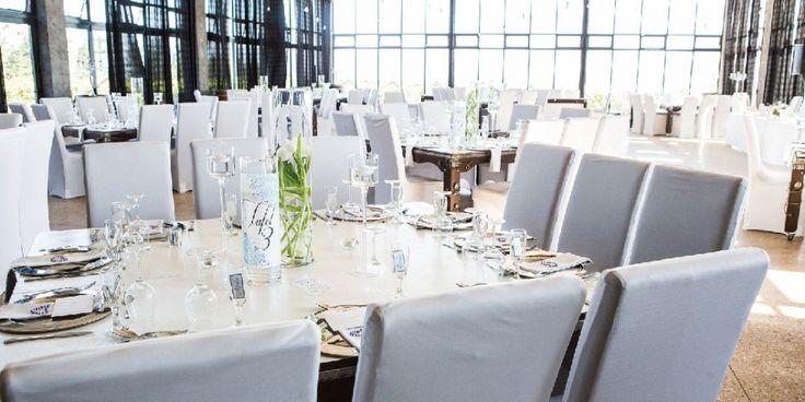 Reception hall at Bakenhof Winelands Wedding Venue