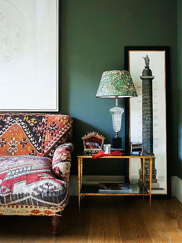 Die besten 25+ graues Samtsofa Ideen auf Pinterest Dunkles sofa - wohnzimmer grau beere