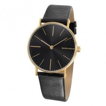 Reloj Retro Dorado y Negro Lambretta Cesare http://www.tutunca.es/reloj-retro-dorado-y-negro-lambretta-cesare
