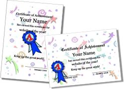 Free editable and downloadable certificates