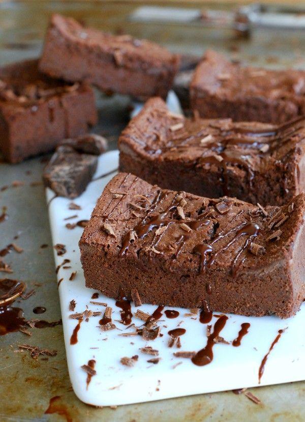 Underbara brownie (utan gluten och tillsatt socker)