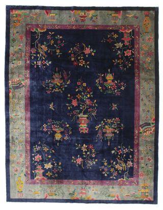 Tapis Chinois antique Artdeco 350x270