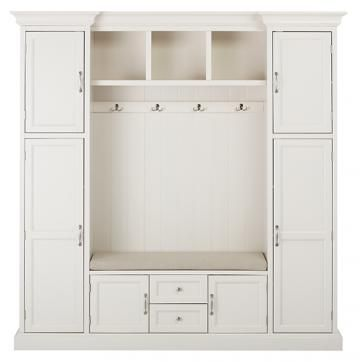 Royce All-in-One Mudroom - Mudroom Storage - Hall Tree - Entryway Storage - Storage Cabinet | HomeDecorators.com