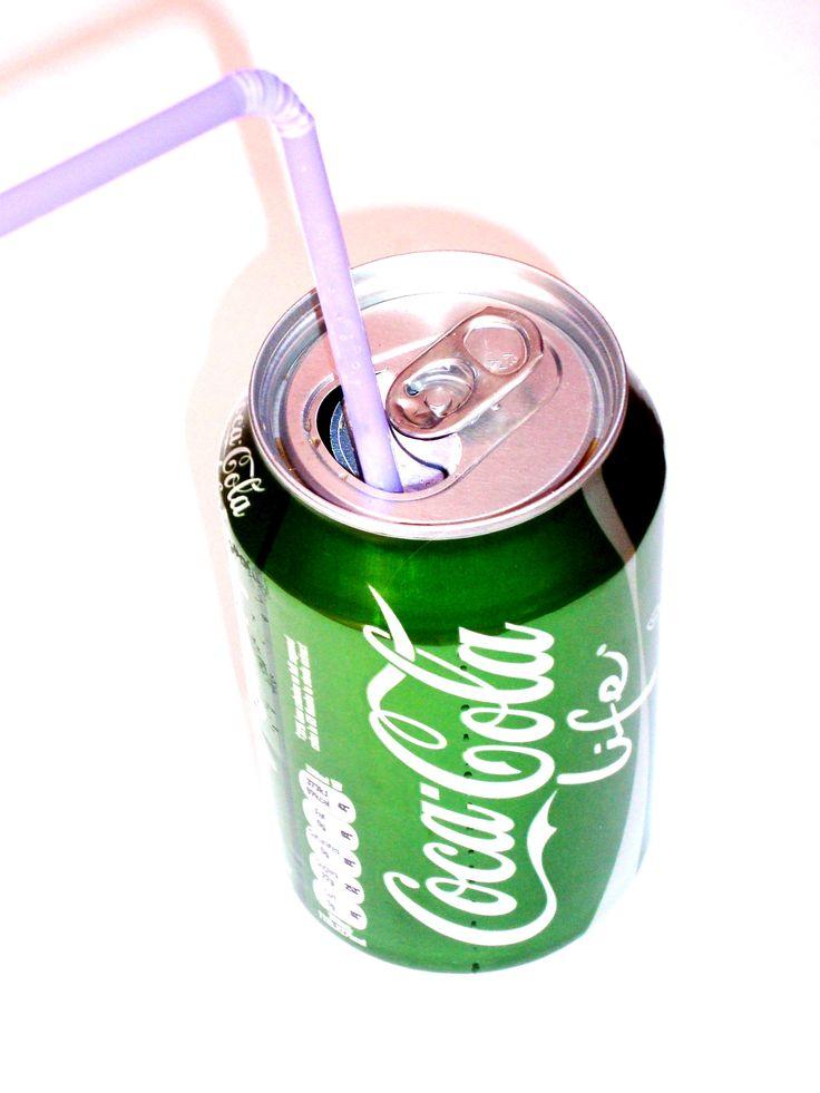 A can of Coke - Coca Cola life