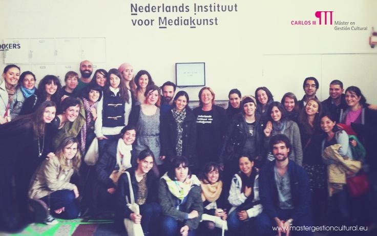 #MGC9ed en el Nederlands Instituut voor Mediakunts, con Anouk la Verge, del Departamento de Educación.