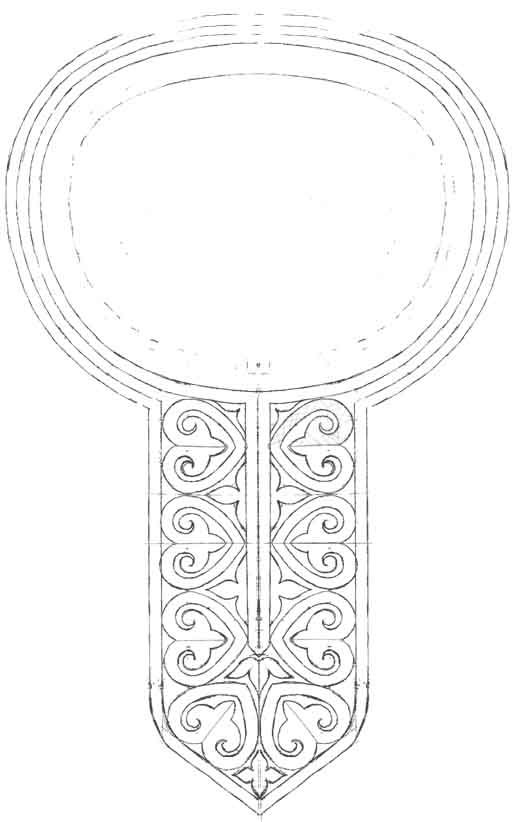12th century embroidery pattern