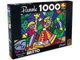 Quebra-Cabeça Romero Britto 1000 Peças - Grow