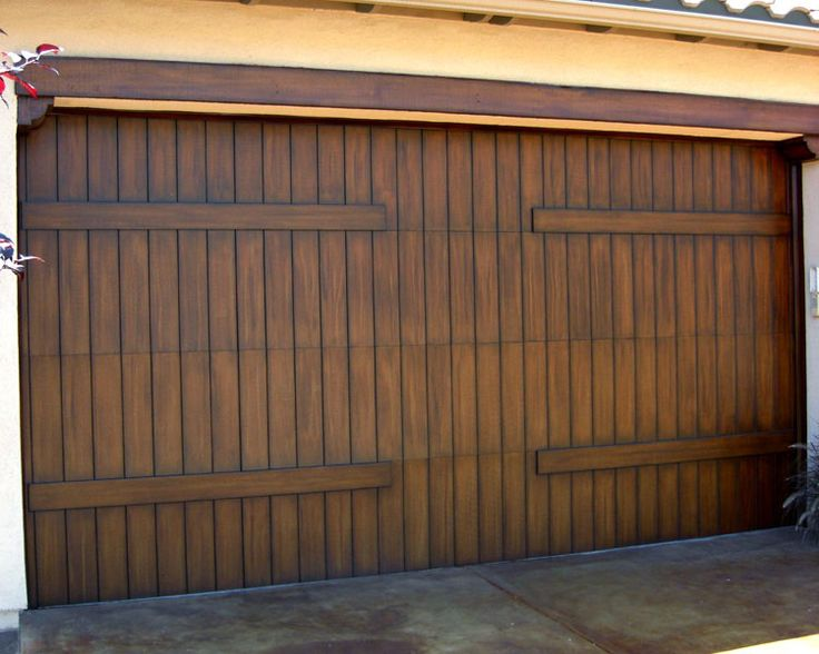 11 best garage door images on pinterest home ideas for Faux wood garage door prices