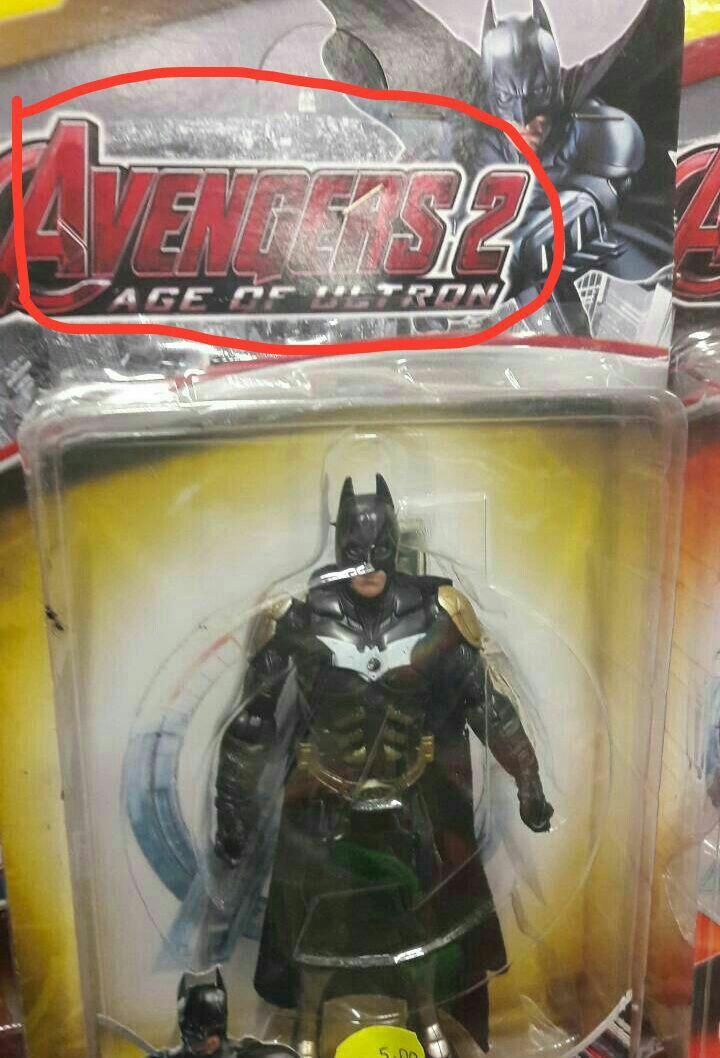 Ja vi até o super man nessas embalagens