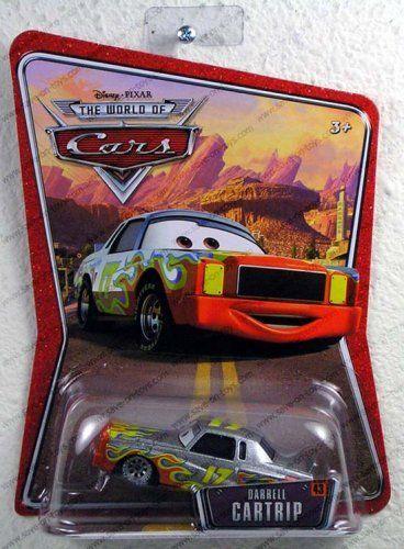 Disney / Pixar CARS Movie 1:55 Die Cast Car Series 43 World of Cars Darrell Cartrip by Disney. $5.99. Pixar Cars Darrell Cartrip. New Disney Pixar Cars Darrell Cartrip diecast