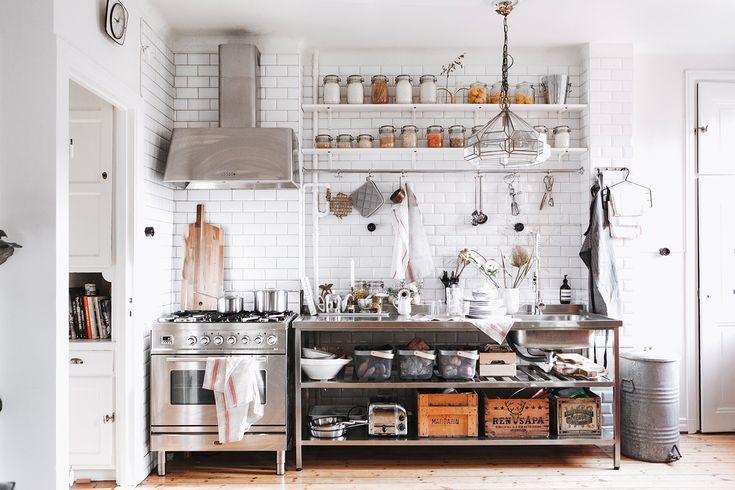 Mitt kök – före och efter | Elsa Billgrens blogg på ELLE.se!